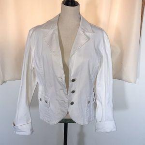 XL stretch denim jacket